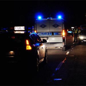 Pijany kierowca BMW wpadł do rowu w Rybniku