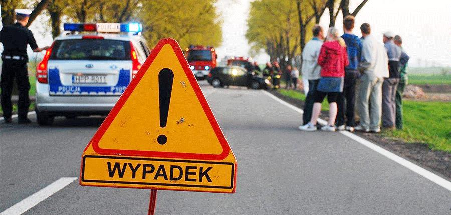 Wypadek na Krótkiej w Skrzyszowie