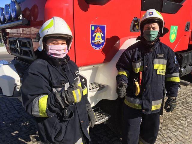 Strażacy OSP Biertułtowy
