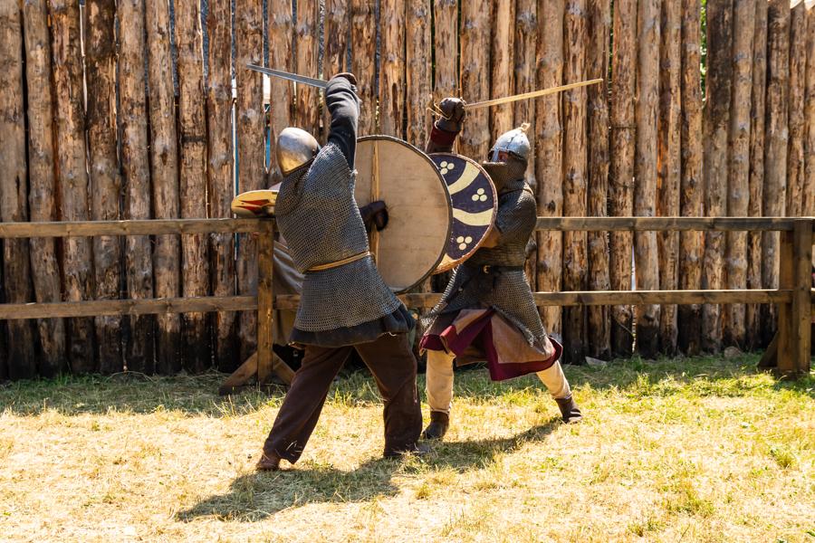 Ostatniego dnia festiwalu odbyły się również finałowe walki w turniejowe.
