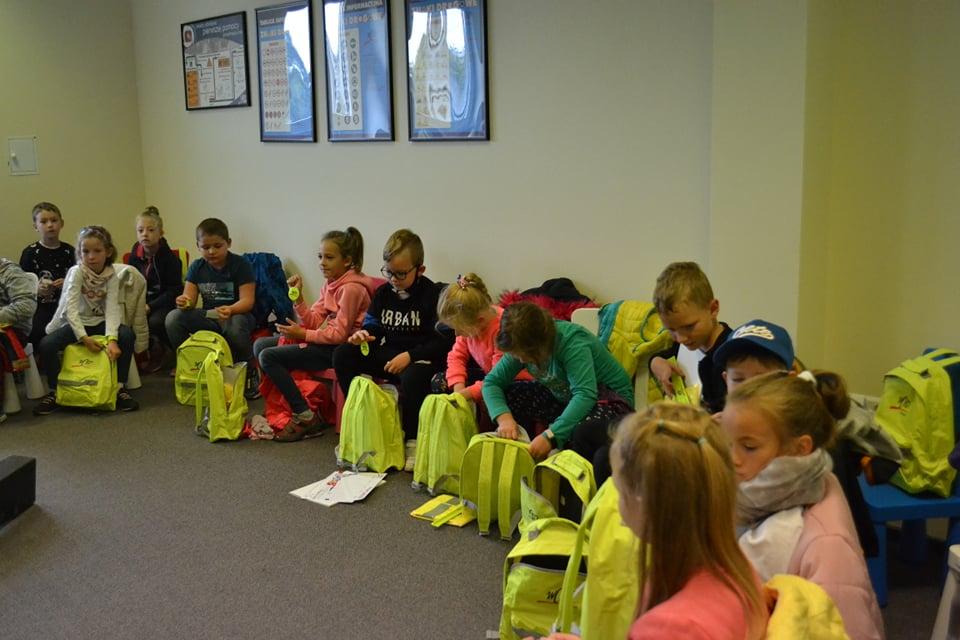 Dzieci ze szkoły nr 2 w Marklowicach