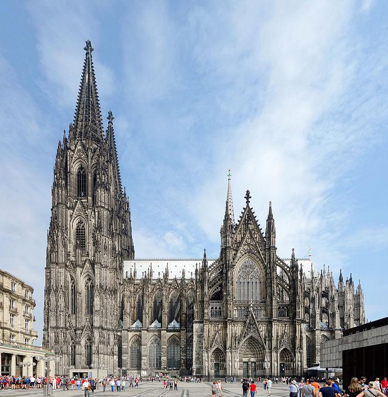 Katedra kolońska (źródło: Velvet, CC BY-SA 4.0).