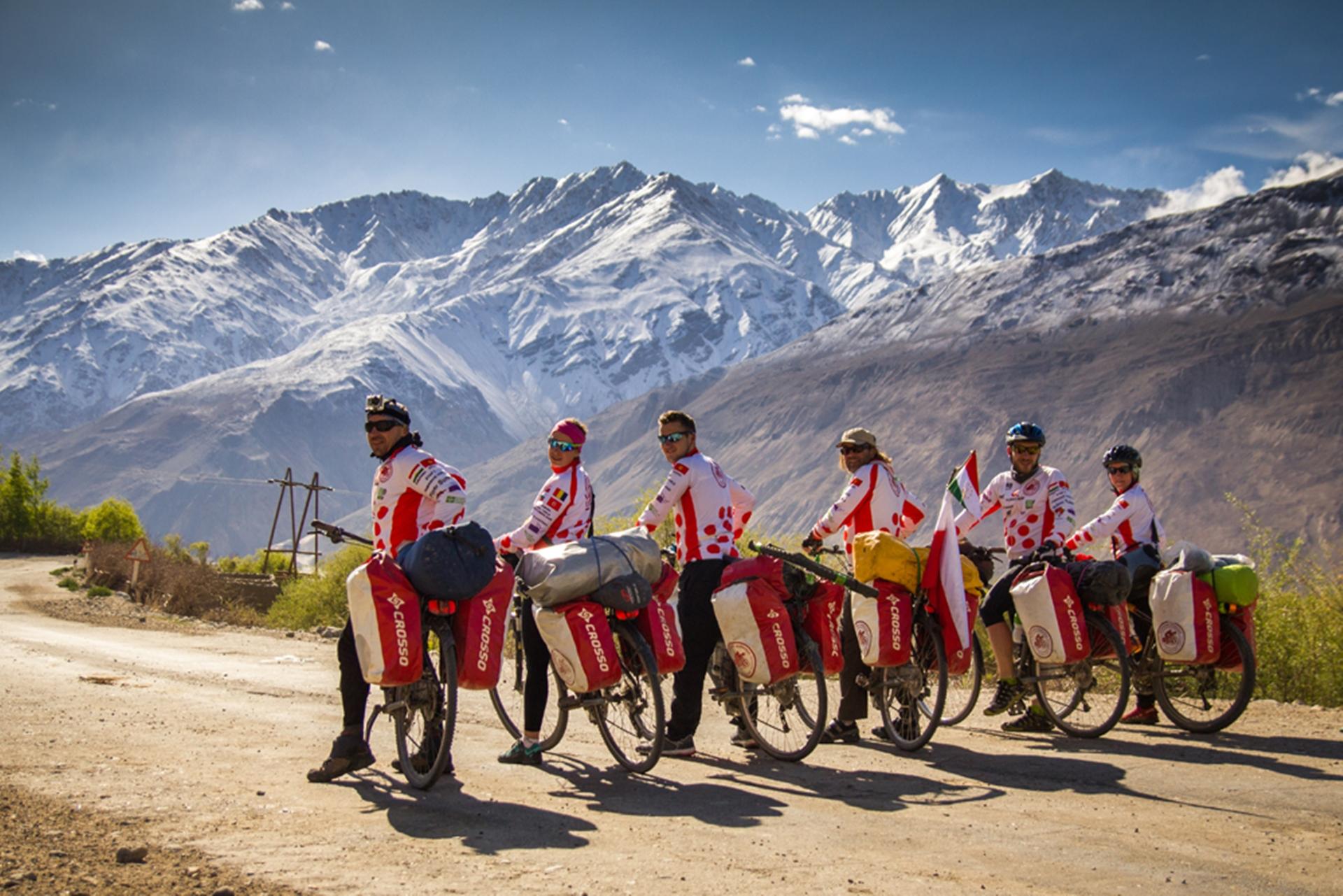 Rowerzyści na szlaku. Foto: Urszula Ziober